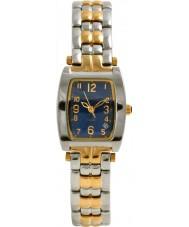 Krug Baümen 1964KL-T Ladies Tuxedo Two Tone Steel Bracelet Watch