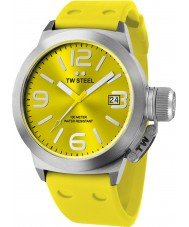 TW Steel TW520 Canteen Fashion Yellow Silicon Strap Watch