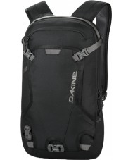 Dakine 10000228-BLACK-OS Heli Pack Black Backpack - 12L