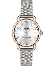 Coach 14502246 Ladies Delancey Silver Steel Bracelet Watch