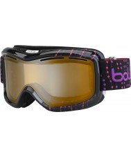 Bolle 21062 Monarch Black Pink Beads - Modulator Citrus Gun Ski Goggles