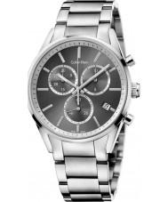 Calvin Klein K4M27143 Mens Formality Silver Chrono Watch