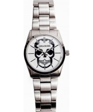 Zadig and Voltaire ZV007T-FM Timeless Skull Silver Steel Bracelet Watch