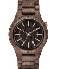 WeWOOD ASSUNTCHOCRGH Assunt Choco Rough Wood Bracelet Watch