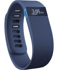 Fitbit FB404BUS Charge Blue Wireless Activity and Sleep Wristband - Small