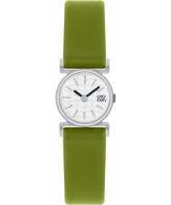 Orla Kiely OK2019 Ladies Cecelia Green Leather Strap Watch
