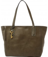 Fossil ZB6844386 Ladies Emma Green Tote Bag