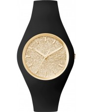 Ice-Watch 001355 Ice-Glitter Exclusive Black Silicone Strap Watch