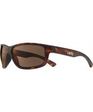 Revo RE1006 Baseliner Matte Tortoiseshell - Terra Polarized Sunglasses