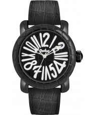 Pocket PK3008 Mens Rond Classique Grande All Black Watch