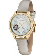 Chriselli Thomas Earnshaw Lady Australis Champagne Satin Strap Watch