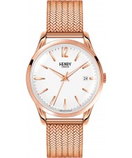 Henry London HL39-M-0026 Ladies Richmond White Rose Gold Watch