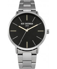 Ben Sherman WB054BSM Mens Silver Steel Bracelet Watch