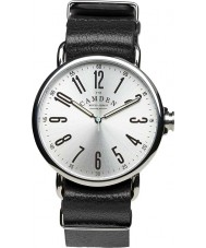 Camden Watch Company CWC-88-11A-L1A No 88 Black Leather Strap Watch