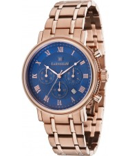 Thomas Earnshaw ES-8051-33 Mens Beaufort Rose Gold Plated Chronograph Watch
