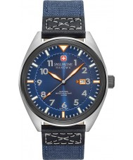 Swiss Military 6-4258-33-003 Mens Airborne Blue Fabric Strap Watch