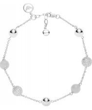 Emporio Armani EG3300040 Ladies Pearls Sterling Silver Bracelet