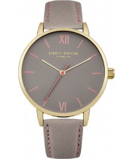 Daisy Dixon DD029EG Ladies Annie Grey Leather Strap Watch