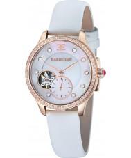 Thomas Earnshaw ES-8029-03 Lady Australis White Satin Strap Watch