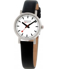 Mondaine A658-30301-11SBB Evo Petite Black Leather Strap Watch