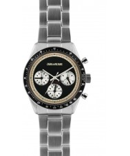 Zadig and Voltaire ZVM101 Master Silver Steel Chronograph Watch