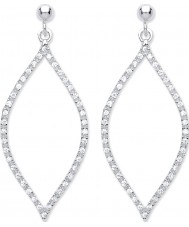 Purity 925 PUR3826ED Ladies Earrings