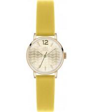 Orla Kiely OK2020 Ladies Frankie Yellow Leather Strap Watch