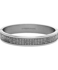 Dyrberg Kern 333828 Ladies Heli II Silver Plated Bangle