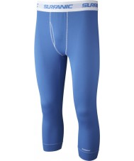 Surfanic SW121602-517-2XL Mens Blue Three-quarter Length Long John Baselayer - Size XXL