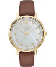 Kate Spade New York KSW1050 Ladies Monterey Brown Leather Strap Watch