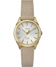 Timex TW2P82000 Ladies Chesapeake Tan Leather Strap Watch
