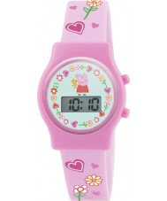 Peppa Pig PP009 Girls Digital Watch with Pink Silicone Strap