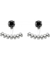Thomas Sabo H1907-698-11 Ladies Skull And Black Onyx Stud Earrings