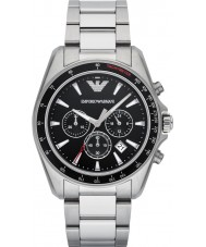 Emporio Armani AR6098 Mens Sports Silver Steel Bracelet Watch
