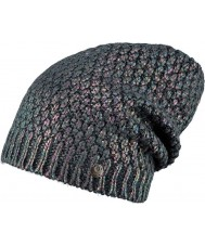Barts 2841021 Ladies Hornad Charcoal Beanie