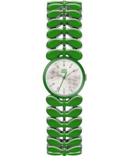 Orla Kiely OK4048 Ladies Laurel Green Steel Bracelet Watch