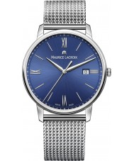 Maurice Lacroix EL1118-SS002-410-1 Mens Eliros Silver Steel Bracelet Watch