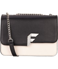 Fiorelli FH8527-VANILLA Ladies Nicole Vanilla Mix Boxy Snap Flap Over Shoulder Bag