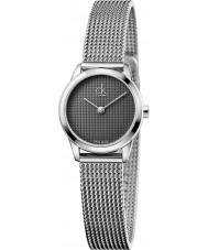 Calvin Klein K3M2312X Ladies Minimal Silver Mesh Watch