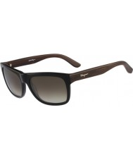 Salvatore Ferragamo Mens SF686S Black Sunglasses