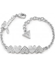 Guess UBB85101-L Ladies Heart Bouquet Bracelet