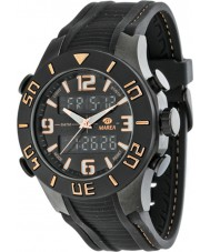 Marea 35206-2 Mens Fashion Black Chronometer Watch