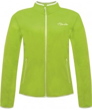 Dare2b DWA308-7FJ10L Ladies Sublimity Lime Green Fleece - Size UK 10 (S)