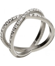 Edblad Ladies Glow Silver X Ring