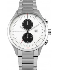 French Connection FC1266SM Mens Silver Steel Bracelet Watch