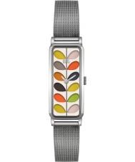 Orla Kiely OK4049 Ladies Stem Silver Steel Bracelet Watch