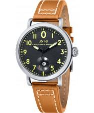 AVI-8 AV-4020-02 Mens Lancaster Bomber Mustard Leather Strap Watch