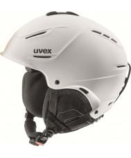 Uvex 5661531107 P1us Matte White Ski Helmet - 59-62cm