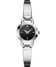 Bulova 96P155 Ladies Diamonds Silver Steel Bangle Watch