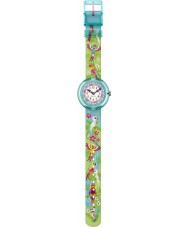Flik Flak FBNP041 Girls Papageieiei Green Watch
